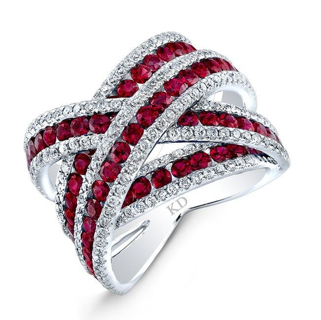 48 Best Images About Criss Cross Diamond Rings On