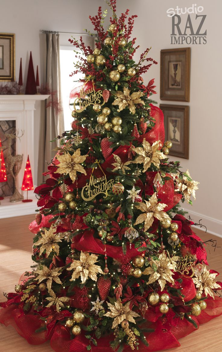 traditional red and green christmas decor ideas