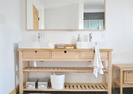 ikea bathroom vanity ideas Best 20+ Ikea hack bathroom ideas on Pinterest