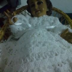 Crochet Doily Patterns With Diagram Copeland Discus Wiring Marutejeq´borda: Vestidos Para NiÑo Dios | Pinterest And