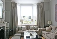25+ best ideas about Bay window curtains on Pinterest ...