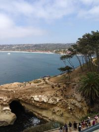 La Jolla Ca 4/20/14 from Eddie V's prime Seafood ...