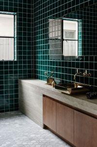 25+ best ideas about Green bathroom tiles on Pinterest ...
