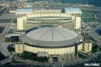 The Astrodome Old Houston Astros Stadium Baseball
