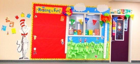 Dr Seuss Classroom Display And Bulletin Board Idea