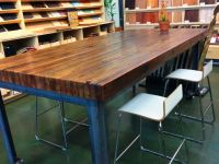 make a table with 2x4 dining wood table buterblock ...