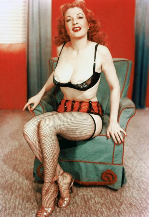 Tempest Storm Burlesque Dancer C 1950s Retro