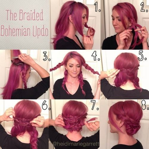 132 Best Images About Hair Styles On Pinterest Hair