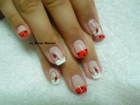 Best 25+ Ladybug nails ideas on Pinterest