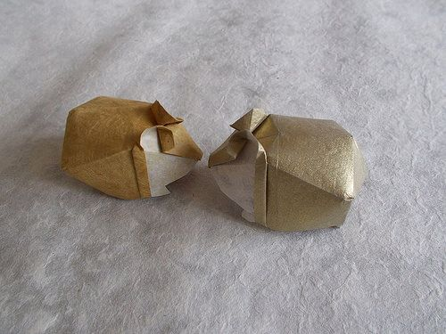 origami wolf instructions diagram attwood bilge pump wiring hamster by yoo tae yong paper 1 photos 657   022-origami ~ pinterest photos, 1