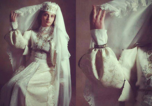 Armenian wedding dress  Photo Atelier Marashlyan