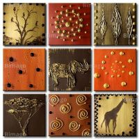25+ great ideas about African wall art on Pinterest