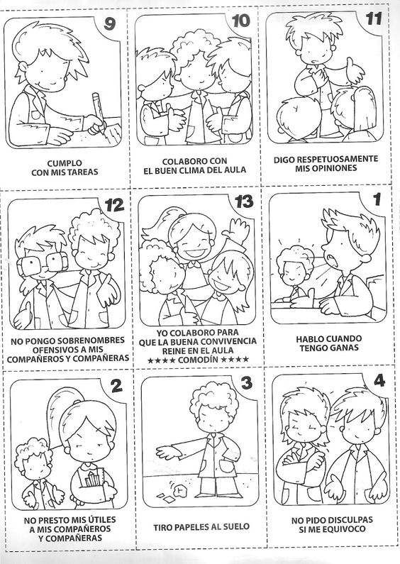 25+ best ideas about Normas de convivencia on Pinterest
