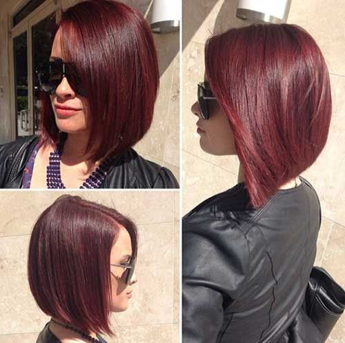25 Best Ideas About Red Bob Hair On Pinterest Graduated Bob