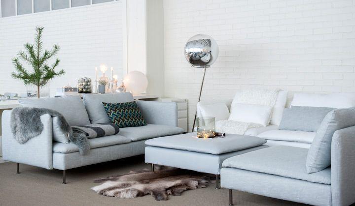 ektorp living room machine washable rugs for söderhamn : ikea | vardagsrum pinterest modular sofa ...