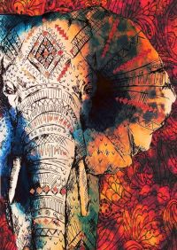 25+ best ideas about Elephant art on Pinterest | Paintings ...