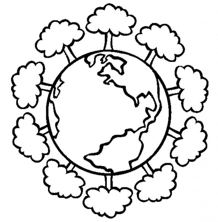 17 Best ideas about Earth Day Coloring Pages on Pinterest