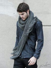 Mens Fashion: Scarf, Shirt, Fall 2013 | HOMBRES BIEN ...