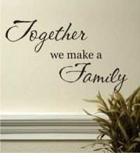 17 Best Family Wall Quotes on Pinterest | Vinyl wall ...