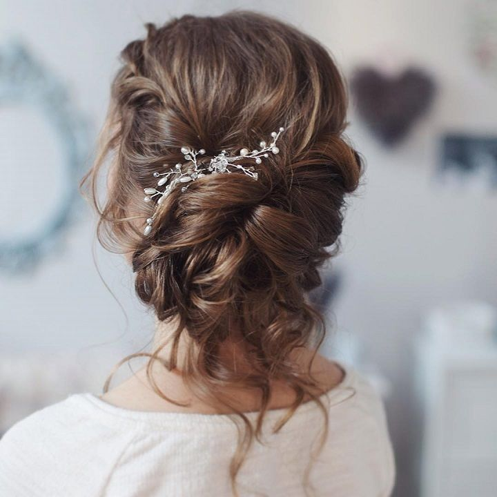 17 Best ideas about Long Wedding Hairstyles on Pinterest