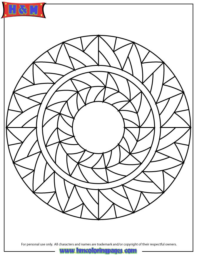 85 best images about Mandala Coloring Pages on Pinterest