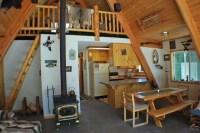 rustic a-frame interior   Cabin   Pinterest   Interiors ...