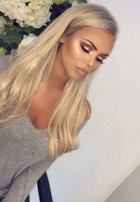 25+ best ideas about Blonde Hair Makeup on Pinterest ...