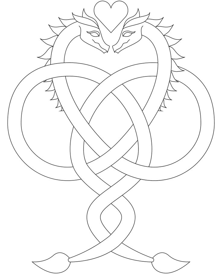 25+ best ideas about Simple dragon drawing on Pinterest