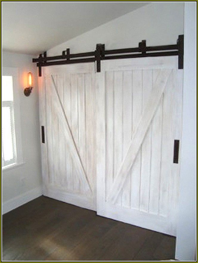 25+ best ideas about Barn door closet on Pinterest