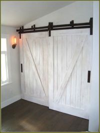 25+ best ideas about Barn door closet on Pinterest ...