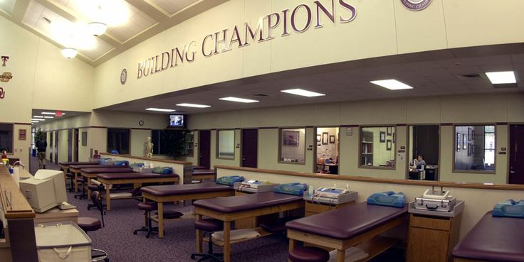 TAMU  Olympic Sports Athletic Training Room  Athletic Training Rooms in District 6  Pinterest