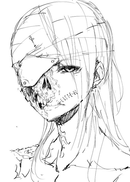 Face Mask Drawing
