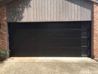 New Install: Clopay Modern Black Garage Door with Vertical ...