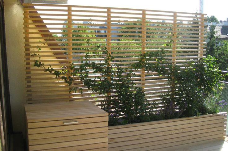 best ideas about balkon sichtschutz holz on pinterest. Black Bedroom Furniture Sets. Home Design Ideas