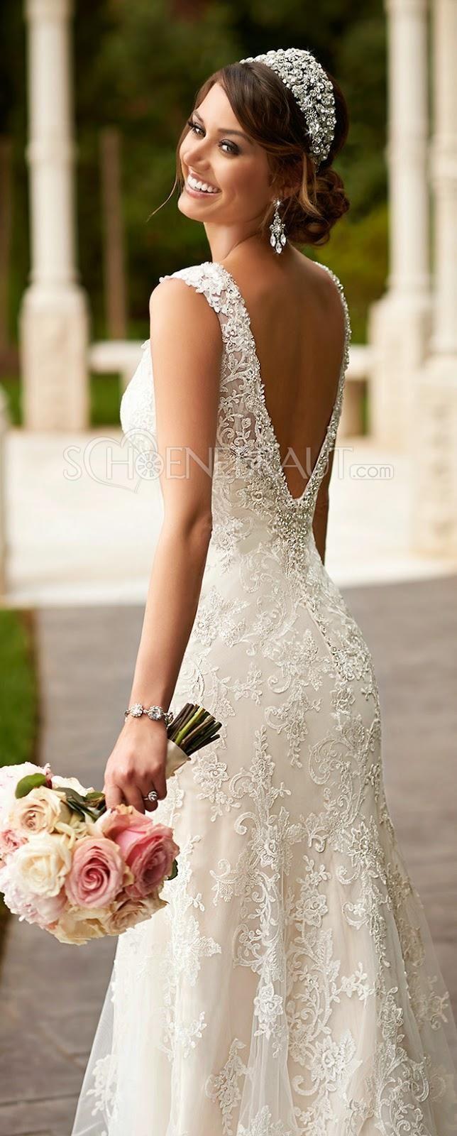 Die 25 Besten Ideen Zu Hochzeitskleid Rückenfrei Spitze Auf