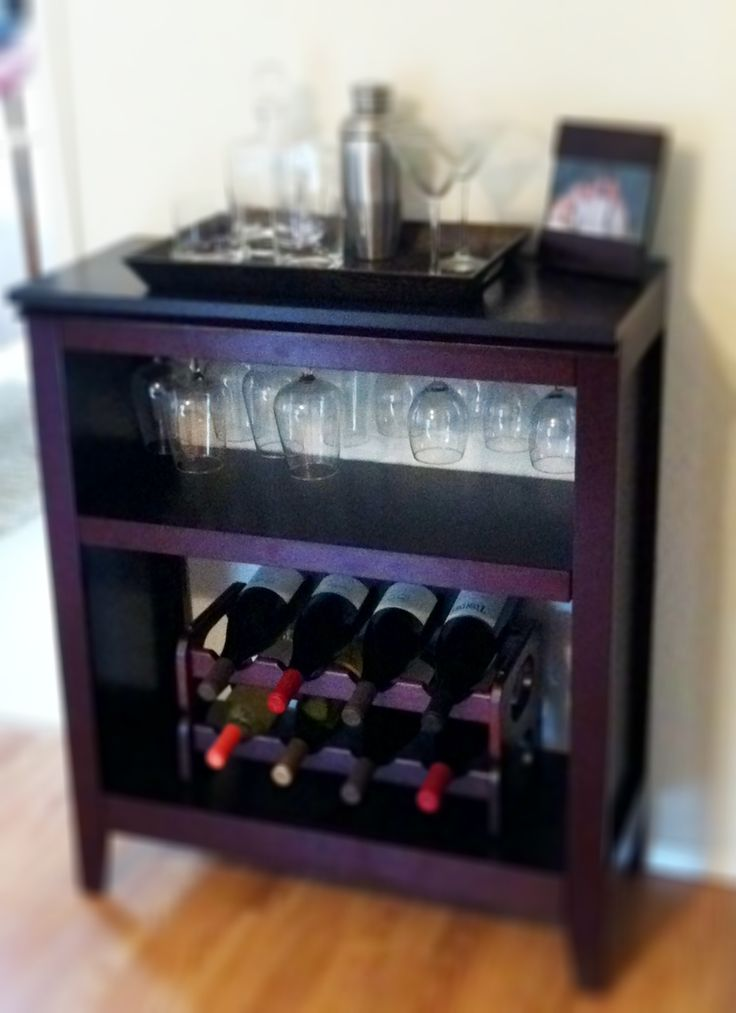 Last weekends project DIY wine rack made out of a