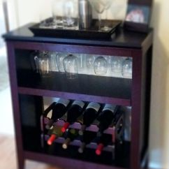 Kitchen Carts Target Remodel Prices Last Weekend's Project- Diy Wine Rack Made Out Of A ...
