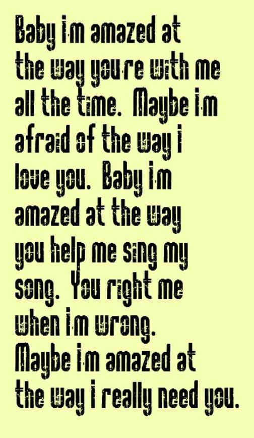 Paul McCartney Maybe Im Amazed Song Lyrics Music Lyrics Song Quotes Music Quotes Songs