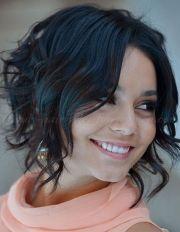 short wavy hairstyles women