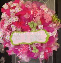 17 Best images about Baby Wreaths on Pinterest | Its a ...