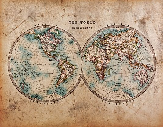 The World Rustic Map Wallpaper Ink Maps Wallpapers