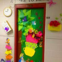 Alice in Wonderland classroom door. | Alice in Wonderland ...