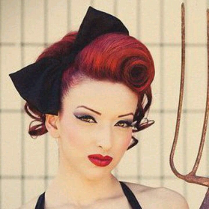 Best 25 Victory Rolls Ideas On Pinterest Vintage Hair Pin Up