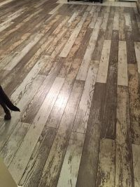 New Bull Barn Oak is a laminate with a unique, weathered ...
