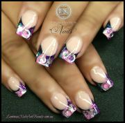 luminous nails and beauty gold coast queensland. acrylic gel sculptured