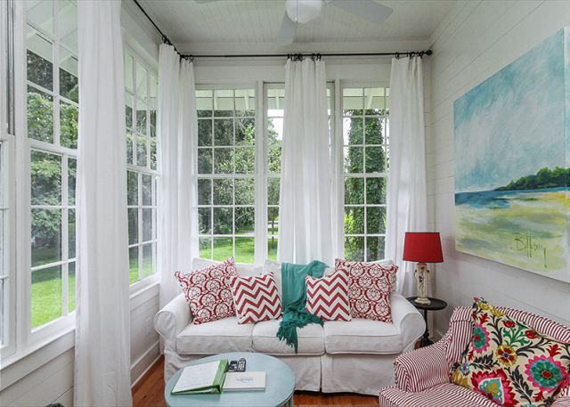 15+ best ideas about Sunroom Window Treatments on