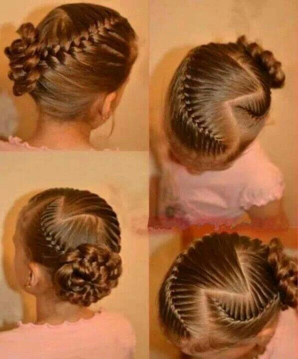 18 Best Images About Little Girls Hairstyles On Pinterest Updo