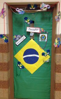 Olympic door decoration - Brazil @Katya Kartysheva @Ana G ...