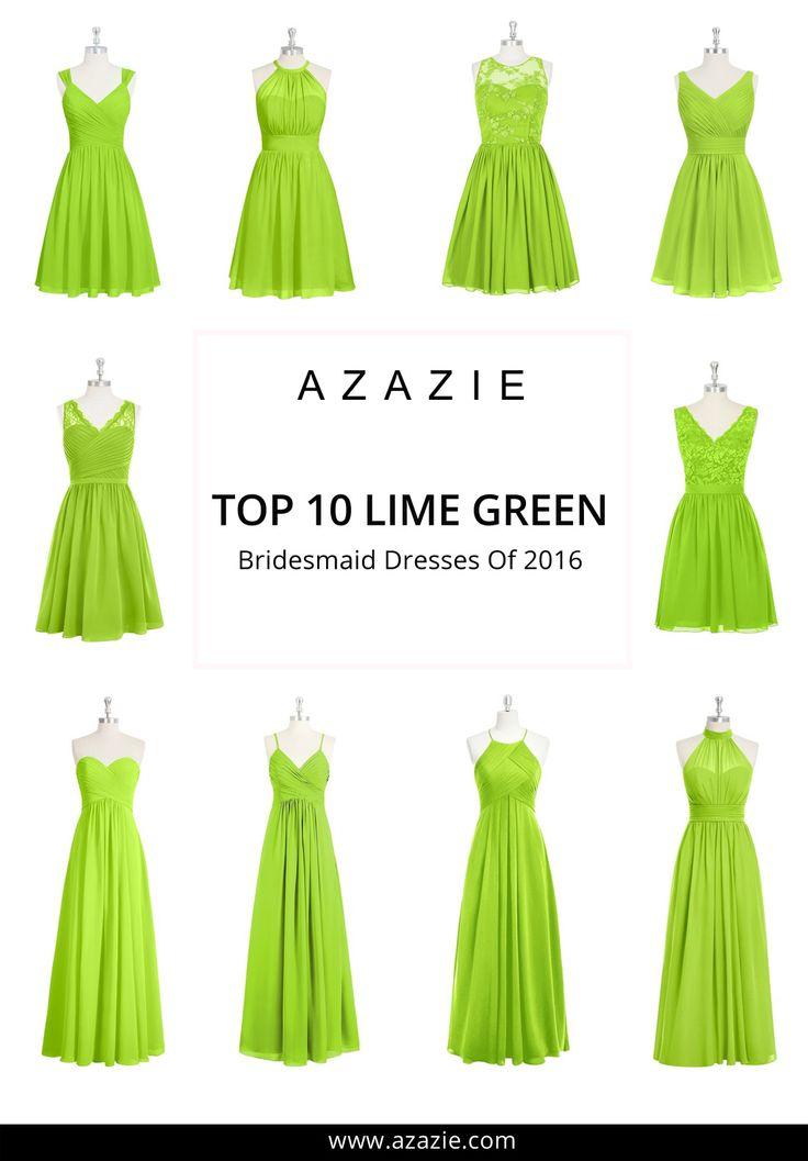 Best 25+ Lime green bridesmaid dresses ideas on Pinterest