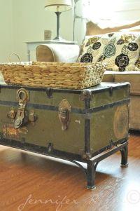 17 Best ideas about Vintage Trunks on Pinterest | Antique ...